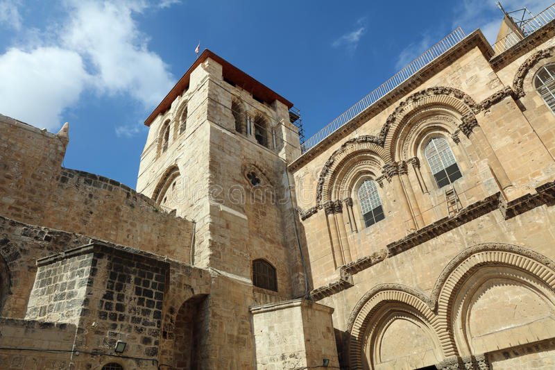 Church of the Holy Sepulchre. Jerusalem royalty free stock photo