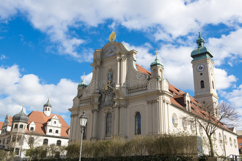 Download Church Of Holy Spirit In Munich Stock Image - Image: 38290029