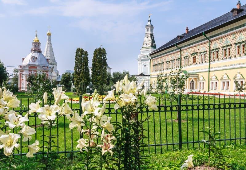 Church of the Holy Trinity St. Sergius Lavra royalty free stock image