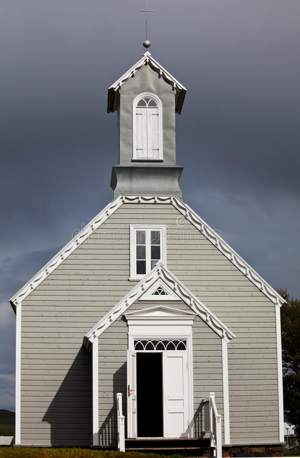 Download Church in Iceland stock photo. Image of travel, countryside - 21031474