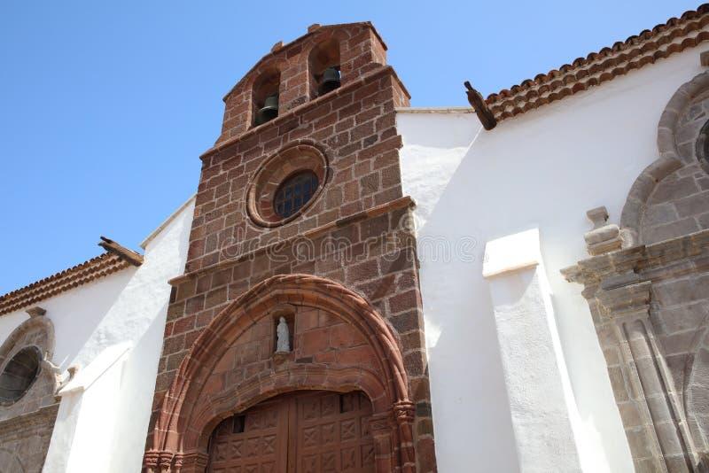 Church Iglesia de la Asunción in San Sebastián de La Gomera. Canary Islands. Spain stock photography