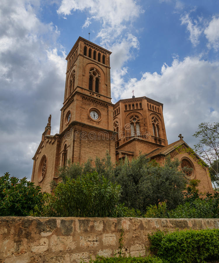Church of Immaculate Conception, San Magin, Palma royalty free stock images