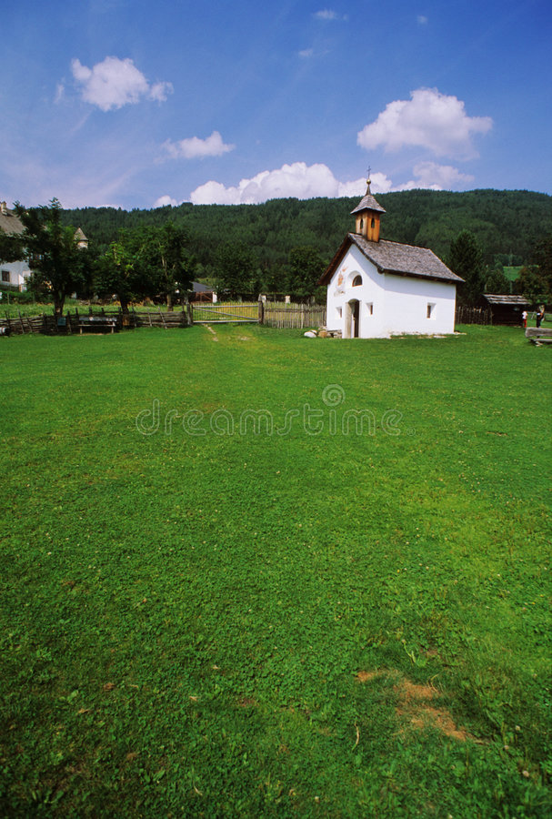 Free Church In Brunico, Italy Stock Images - 3996254