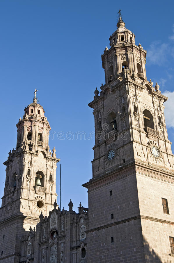 Free Church In Morelia, Mexico Royalty Free Stock Images - 23899739