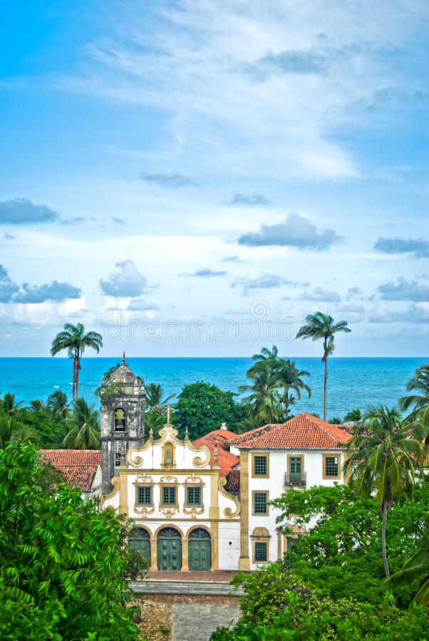 Free Church In Tropical Village At The Beach Royalty Free Stock Image - 18186736