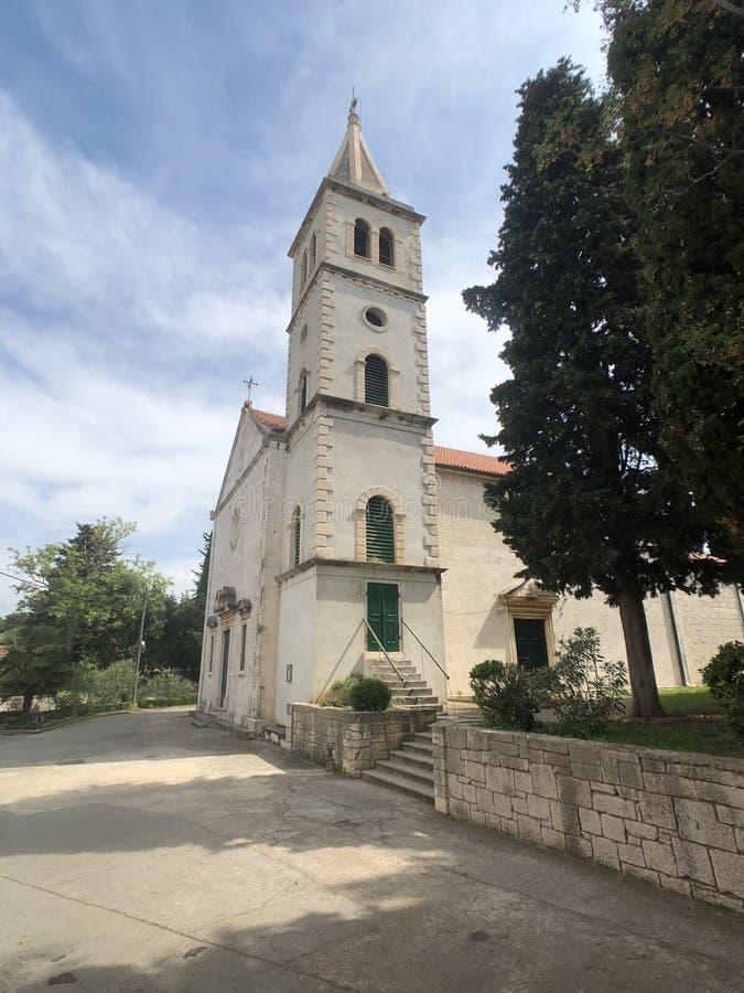 Free Church In Zlarin Stock Photography - 186207842