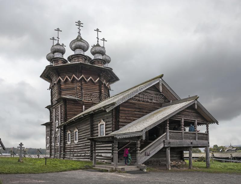 Church of the Intercession. Kizhi island, Medvezhyegorsky district, Karelia. Russian Federation. stock photography