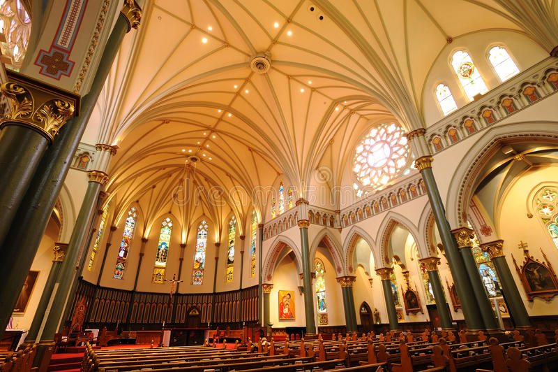 Church Interiors royalty free stock photography