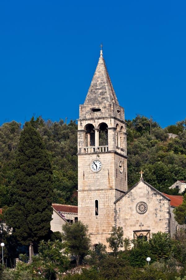 Download Church On Island Sipan, Croatia Stock Image - Image: 11396497