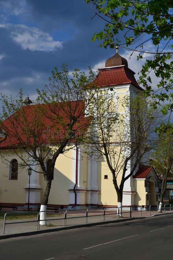 Church Karl Baromey in Pinsk royalty free stock images
