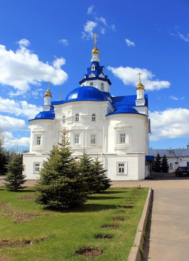Church in kazan royalty free stock photography