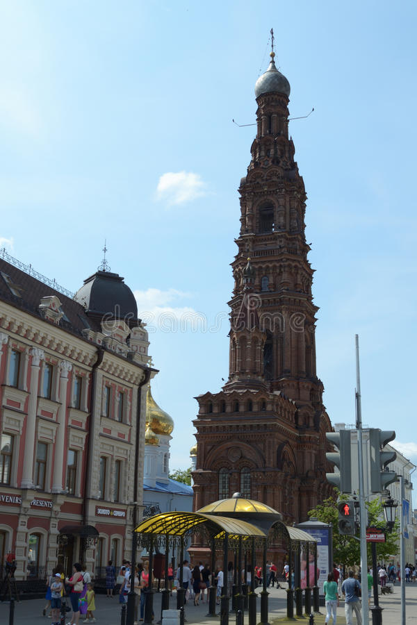 Church in Kazan royalty free stock image