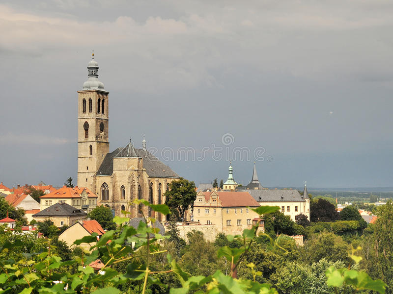Church in Kutna Hora. St. James Church in Kutna Hora,Czech Republic stock photos