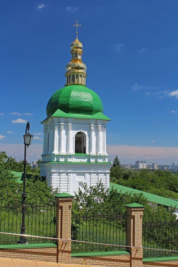 Church of Kyiv-Pechersk Lavra in Kyiv, Ukraine royalty free stock images