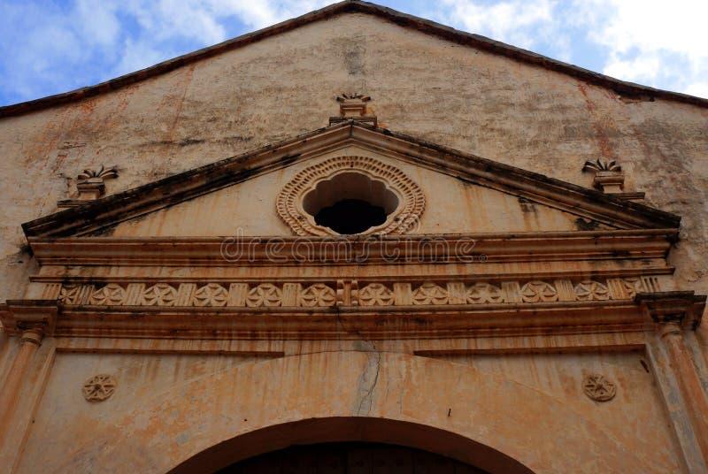 Church of La Asuncion stock images