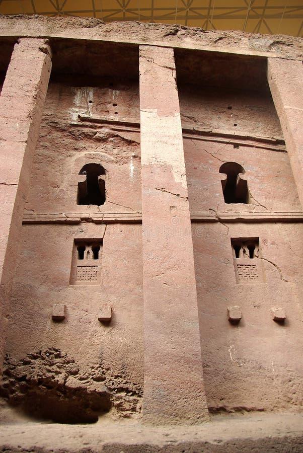 Church in Lalibela, Ethiopia stock photos