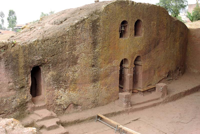 Church in Lalibela, Ethiopia royalty free stock photography