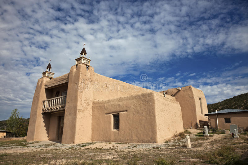 Church In Las Trampas Stock Photography