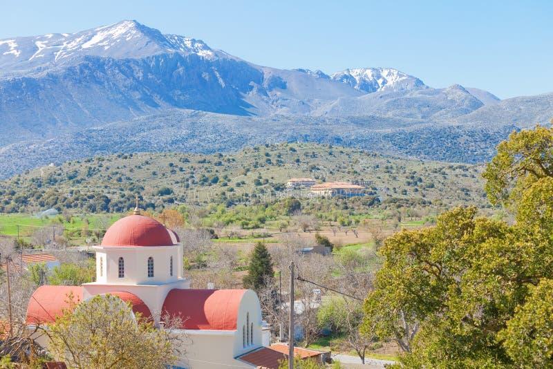 Church of Lassithi. Crete - Greece - Church of Lassithi stock photos