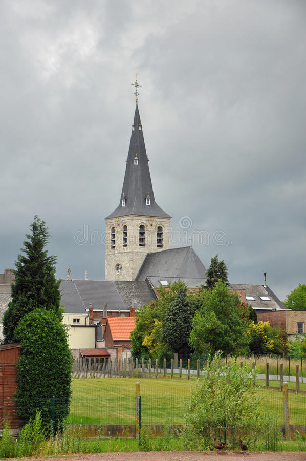 Church of Lebbeke royalty free stock photos