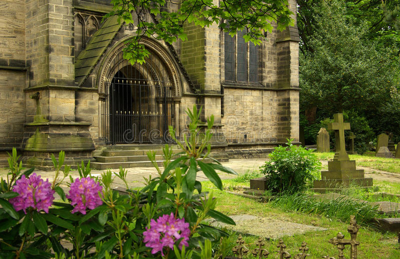 Church in Leeds, UK royalty free stock photography