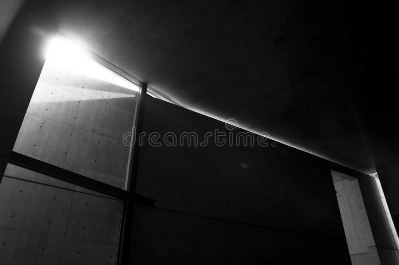 Download Church of The Light stock photo. Image of cross, japan - 32864716