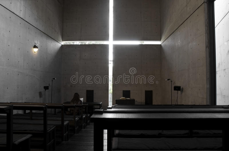 Download Church With Light, Osaka, Japan Editorial Photography - Image: 27706452