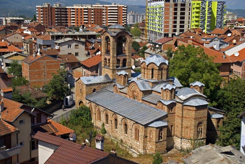 Church of the Ljevisa Virgin, Prizren, Kosovo stock images