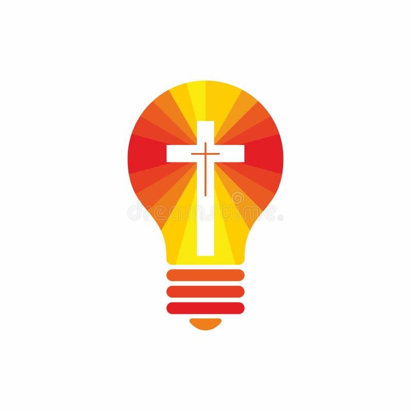 Church Logo Christian Symbols Jesus The Light Of This World