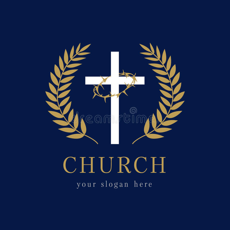 Free Church Logo Template. Royalty Free Stock Photo - 91706875
