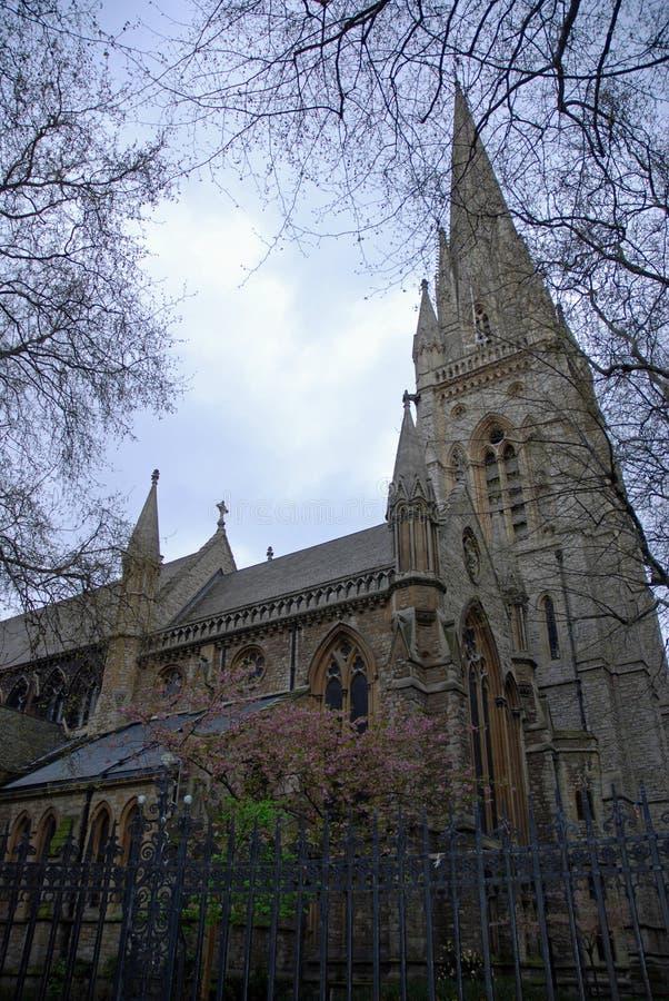 Church in London stock photo