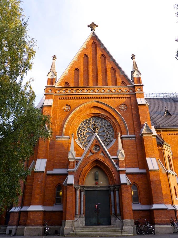 Church in Luleå stock photography