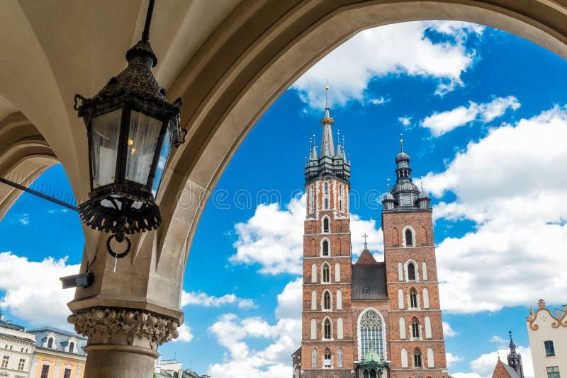Church of Mariacki stock image