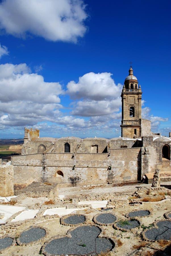Church, Medina Sidonia, Andalusia. royalty free stock photography