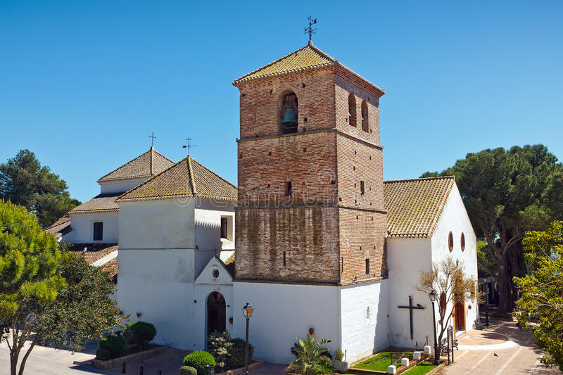 Download Church in Mijas stock image. Image of tower, belfry, tourism - 19744597