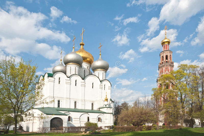 Church in Moscow, Russia royalty free stock photography