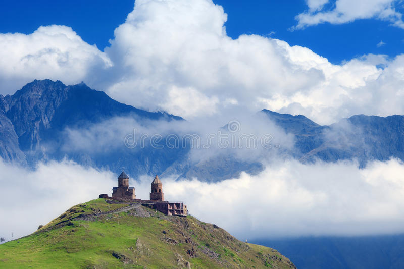 Download Church on mountain stock photo. Image of green, monastery - 45511756