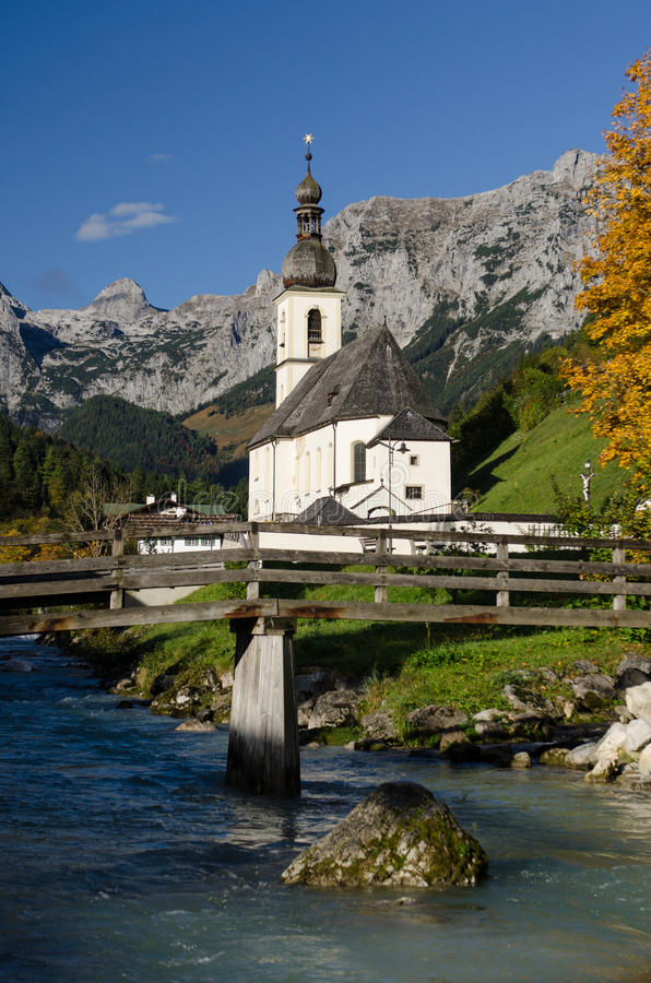 Download Church With Mountains Stock Photos - Image: 27198193