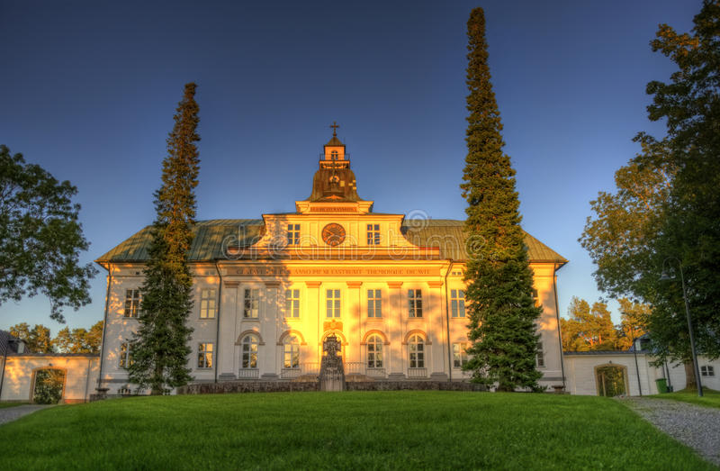 The Church of Mustasaari, Finland royalty free stock photos