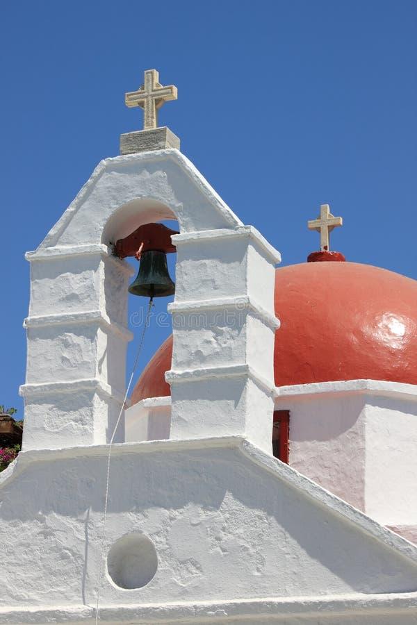 Church in Mykonos, Greece royalty free stock photo