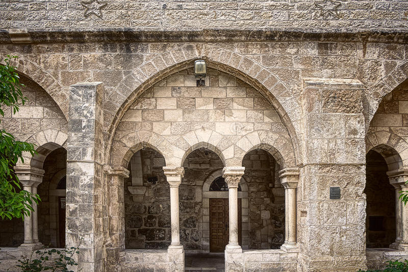 Church in Bethlehem royalty free stock image