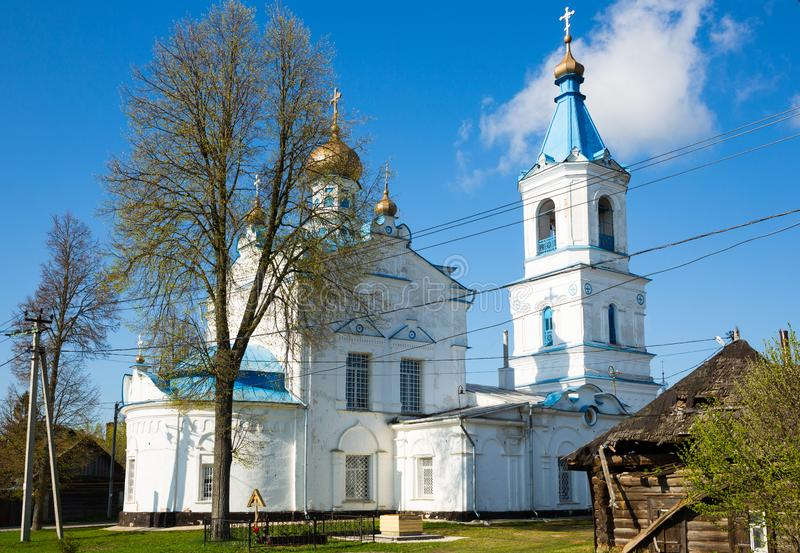 Church of Nativity of Blessed Virgin Mary, Belyov royalty free stock photography