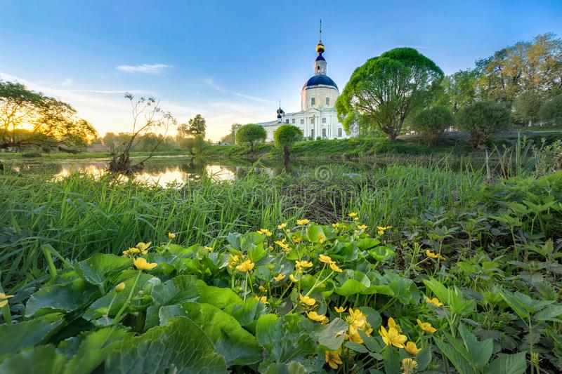 Church of the Nativity of the Blessed Virgin in Vyazma stock photo