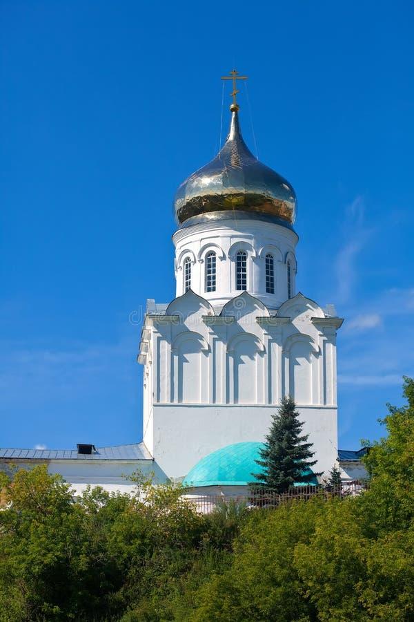 Church of the Nativity of Christ in Aleksandrov stock image