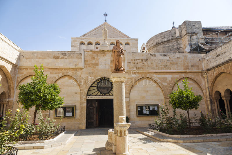The Church of the Nativity of Jesus Christ stock images