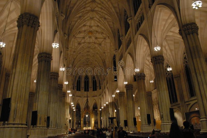 Church In New York City royalty free stock photography