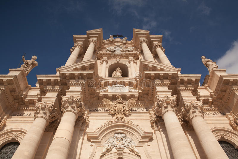 Church in Noto stock image