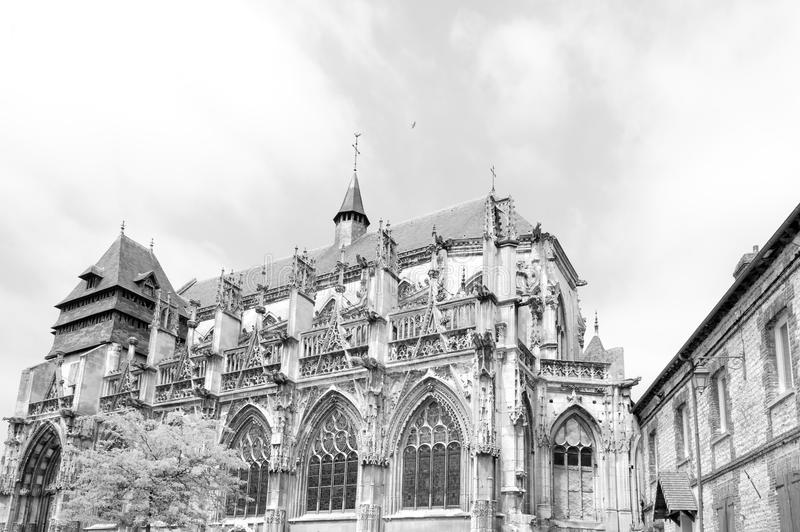 Church of Notre-Dame-des-Arts stock photography