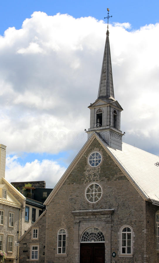 Church of Notre Dame des Victoires stock images