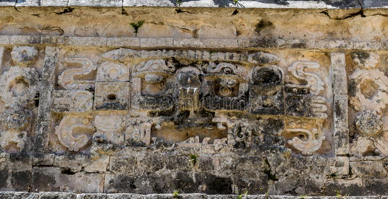 The Church and the Nunnery in Chichen Itza, Mexico royalty free stock photo